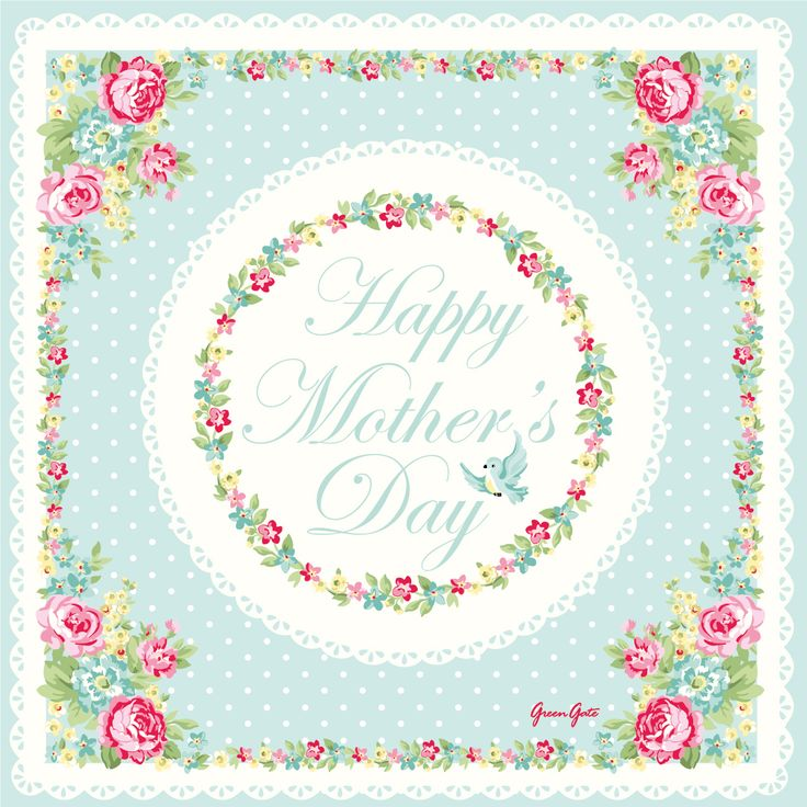 """Greengate """"Happy Mother's Day"""" Greeting"""