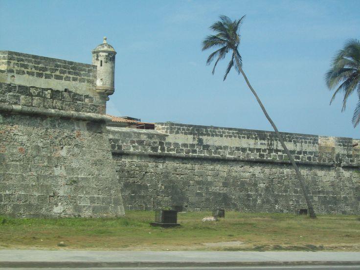 Murallas de Cartagena, Colombia