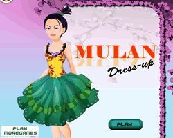 Mulan Dress Up Games Online | mulan dress up mushu rocket rush princess mulan dress up