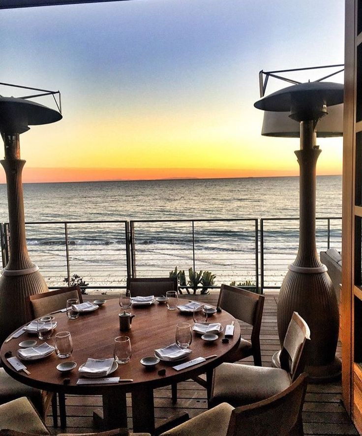 Finally making it to Nobu Malibu. Reservations set!