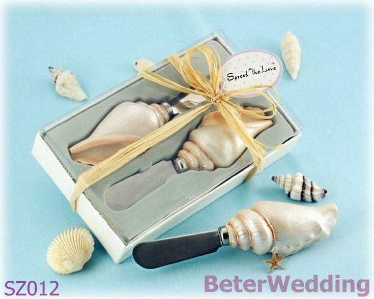 Spread the Love Sea Shell Opener in Gift Box SZ012 Shanghai Beter Gifts Co Ltd@https://twitter.com/BeterWedding on AliExpress.com. 5% off $94,999.05