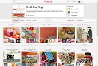 Check out our WeAllSew.com Pinterest Boards! #sewing #diy Internet Site,  Website, Web Site