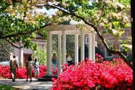 The coeducation public research University of North Carolina at Chapel Hill is widely known with the names UNC,