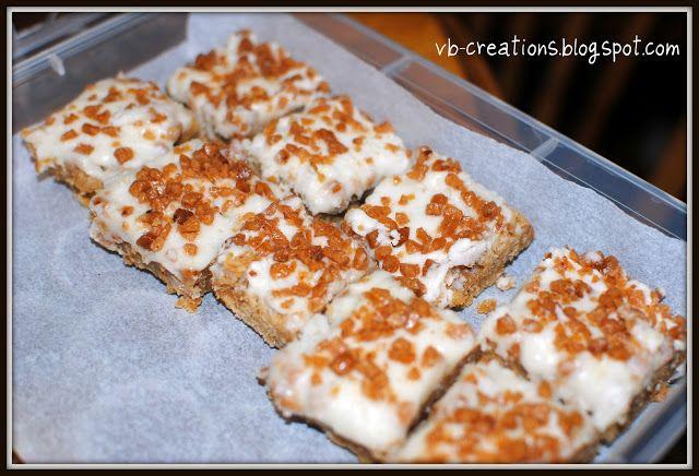 Skor Bar Squares Ingredients: 1 pkg of Skor Chipit…