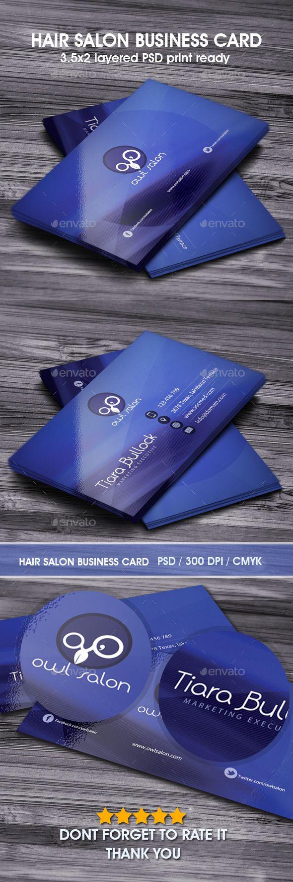 hair salon business card | download: http://graphicriver.net/item/hair-salon-business-card/9864007?s_phrase=&s_rank=3