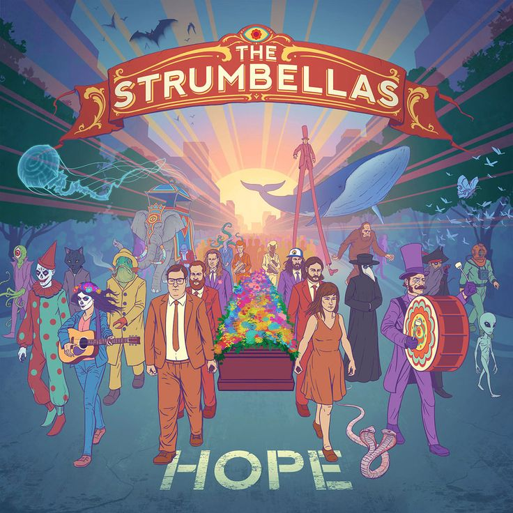 The Strumbellas - HOPE by joelhustak.deviantart.com on @DeviantArt