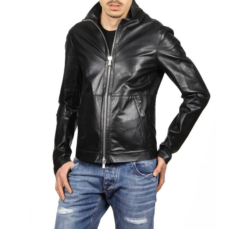Emporio Armani Leather Jacket