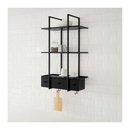 les 25 meilleures id es de la cat gorie etagere murale ikea sur pinterest tag re jardin ikea. Black Bedroom Furniture Sets. Home Design Ideas