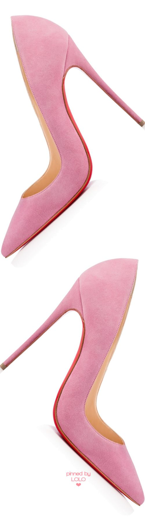 Christian Louboutin ~ 'So Kate' Pink Superfine Stiletto Heels 2015