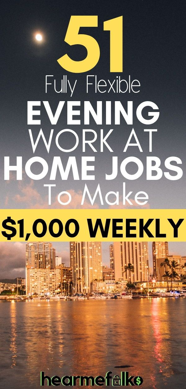 51 Best Late Night Work From Home Jobs that Pay Often – Jobs