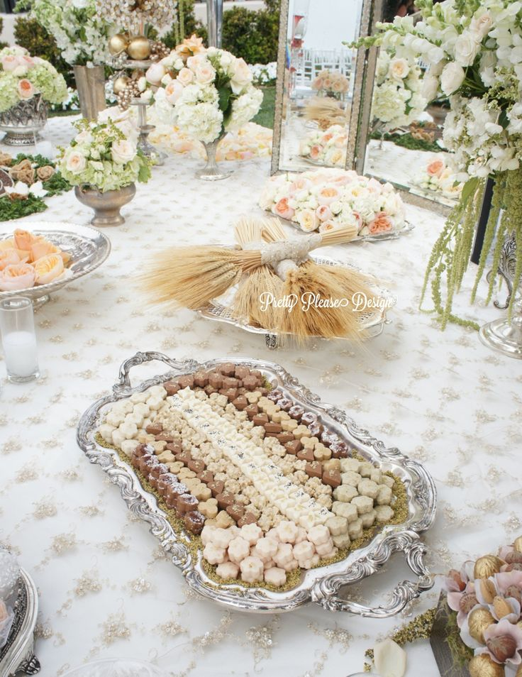 A pretty please - fancy that - tic tock - sofreh aghd collaboration! prettypleasedesign.com | xo Parisa #persianwedding