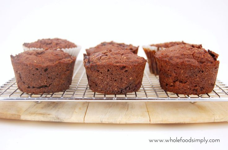 Cherry Ripe Muffins. DELICIOUS! Free from gluten, grains, dairy and refined sugar. Enjoy.