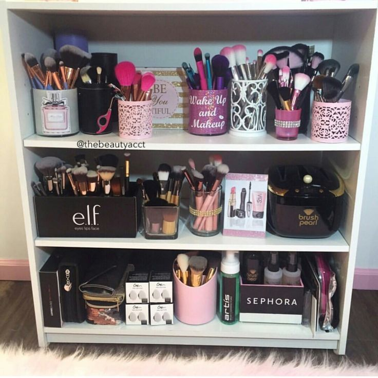 Makeup Storage Shelf Bookcase メイクルーム リビング インテリア