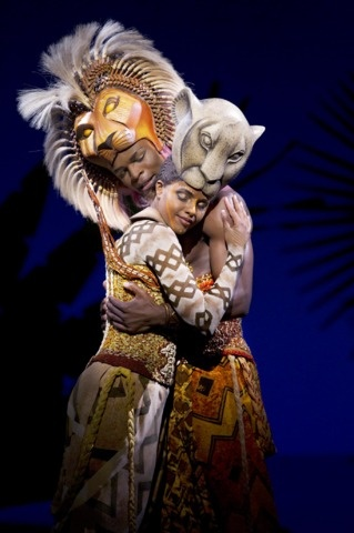 The Lion King, seen on stage in London - loved it