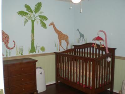 Jungle Safari Nursery Idea This Was Most Definitely A Labor Of Love We Purchased Small Fixer Upper Few Years Ago