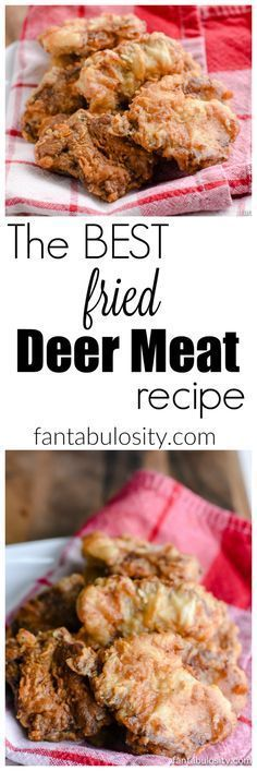 This was SO easy amazing!  How to Cook Deer Meat: Fried Steak, Tenderloin & Backstrap Recipe