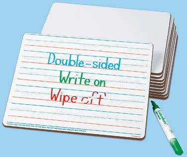 double sided whiteboards with lines!Lakeshore Learning, Prints Writing, Double Sid Learning, Writing Amp, Dreams Classroom, Lakeshore Dreams, Double Side, Wipes Boards, Doublesided Learning
