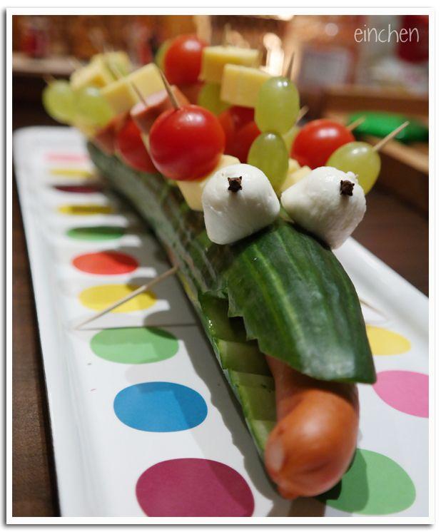Gurkenkrokodil - Kindergeburtstag
