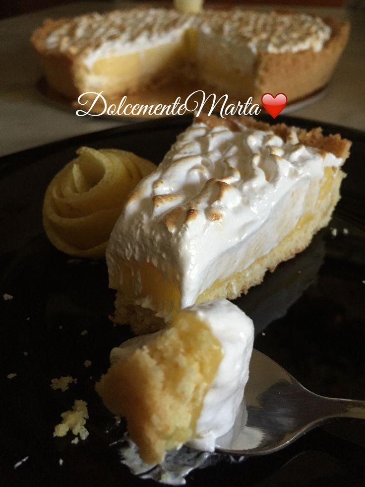 Lemon meringue pie (Ricetta di Ernst Knam)