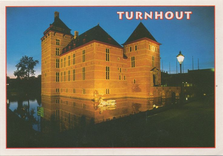 BE-535745 - Arrived: 2017.09.28   ---   Turnhout is a Belgian municipality located in the Flemish province of Antwerp. urnhout is known for its playing card industry, as it houses the head office of the world's largest manufacturer of playing cards, Cartamundi. On the card: Castle of the Dukes of Brabant