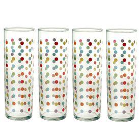 Polka Dot Glasses Gift Box of 4