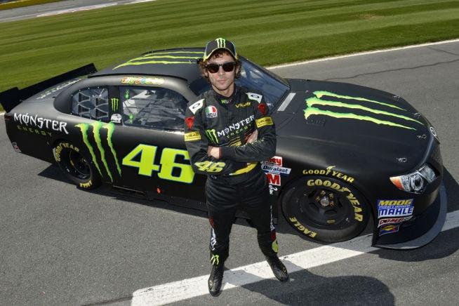 Rossi nella NASCAR
