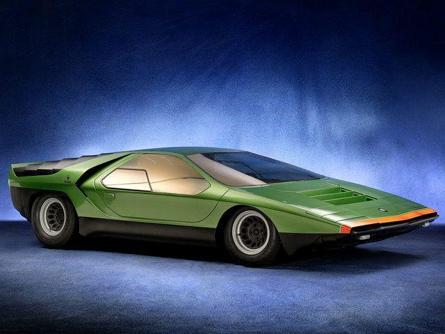 1968 Bertone Alfa-Romeo Carabo Concept