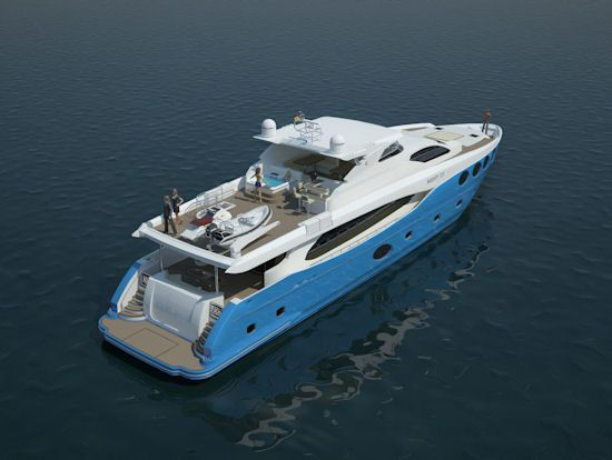 Dubai International Boat Show 2012: Majesty 105 unveiled: Yacht Living, Summa Honey, It S Summa, Dubai International, 105 Unveiled, Majesty 105