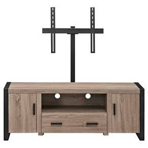 "Reclaimed Wood TV Stand With Mount - Driftwood (60"") - Walker Edison : Target"