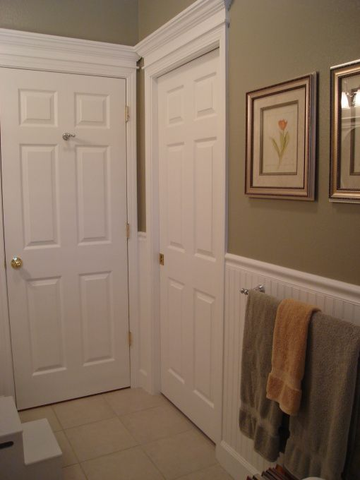 Beadboard wainscoting a collection of home decor ideas to for Beadboard wainscoting bathroom ideas