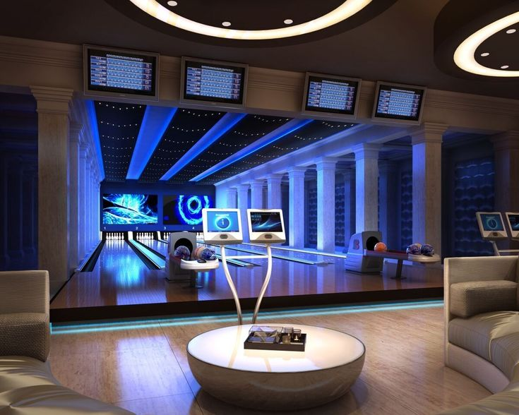 Bowling alley inside Miami's hottest new residential complex: The Estates at Acqualina