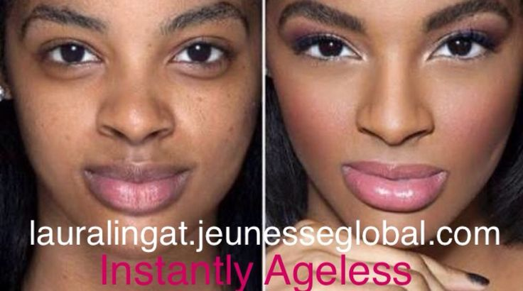 AMAZING Makeup Transformation with Instantly Ageless by Jeunesse. Get rid of #wrinkles #eyebags and #crowsfeet TODAY!!!