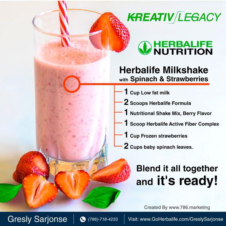 One Milkshake Thousands Of Possibilities Kreativlegacy Miami Westmiami Herbalifemilkshake Healthy F Nutritional Shake Mix Herbalife Nutrition Herbalife