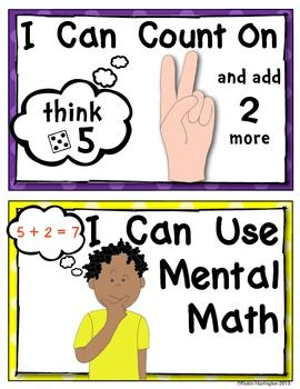 (sample page) Solving Math Problems {Strategy Posters for Addition} Common Core. $