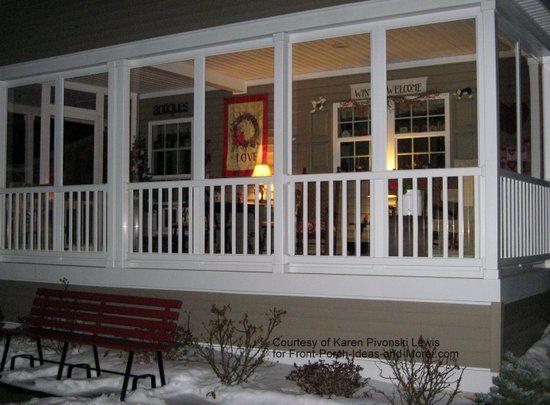 1000 ideas about enclosed front porches on pinterest. Black Bedroom Furniture Sets. Home Design Ideas