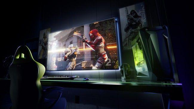 NVIDIA presenta su gigantesco monitor 4K de 65 pulgadas 120Hz y juegos en streaming con Android TV