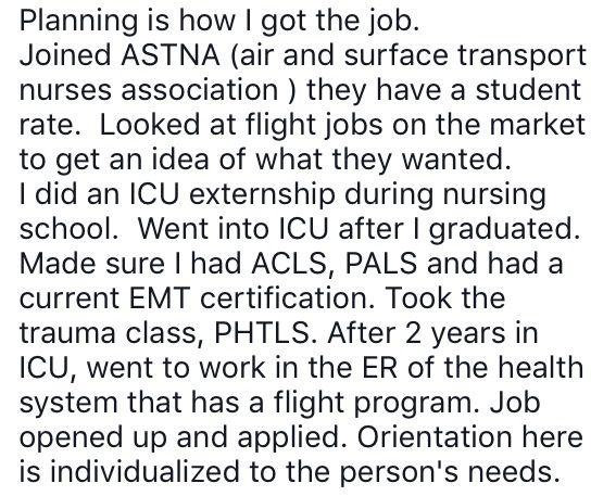 How to become a flight nurse