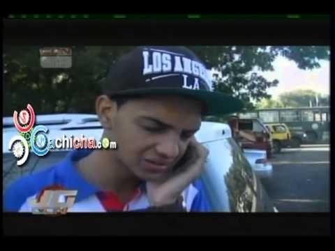 Novio de la menor de 17 Muerta por Desconocido en Atraco en santiago Habla Llorando Como Paso Todo #video   Cachicha.com