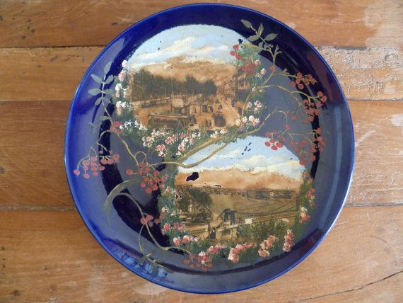 Choisy Le Roi Wall Cabinet Plate Charger Hippolyte by joiedefrance
