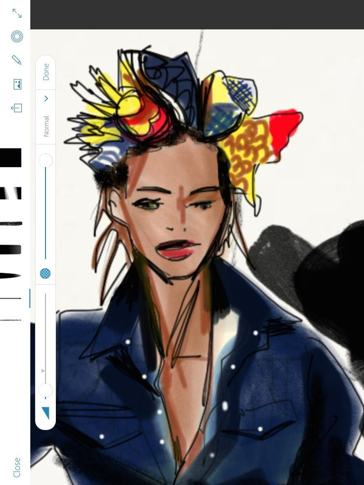 1000+ Images About Digital Fashion Illustration On IPad On
