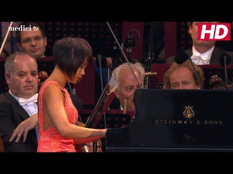 Valery Gergiev, Yuja Wang - Brahms: Piano Concerto No  1 in D Minor