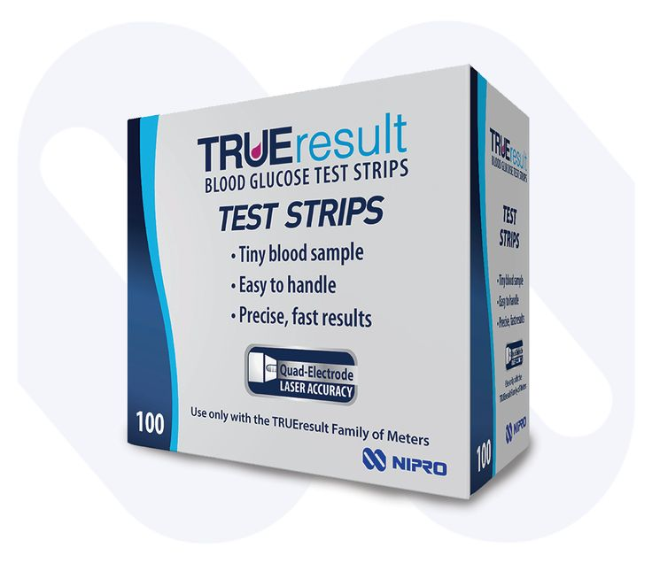 Nipro TRUEresult Glucose Test Strips are compatible for use in the across TRUEresult family. Cutting edge technologies allow precise sampling, measurement and detection ensure accurate blood glucose test results.