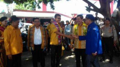 Mukhtar Tompo Beri Semangat, Dipelantikan DPC HANURA Jeneponto