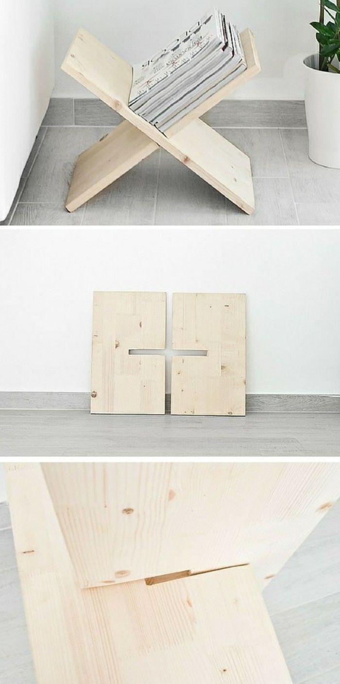 diy moebel diy wohnideen regal aus holz selber machen  # DIY Holz