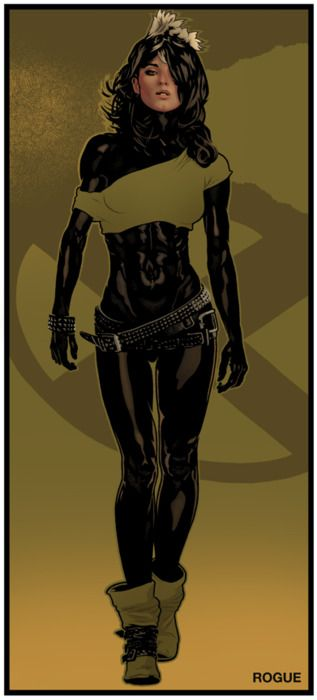 I think I just found my Halloween Costume. Rogue by Jeff Spokes