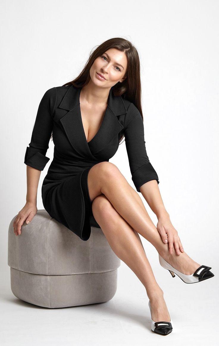 Dianne Dress In Black Is A Great Wardrobe Essential Cuffs