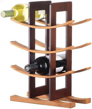 rack by Anchor Hocking  |  View more at http://www.goeye4design.com/creative-wine-racks