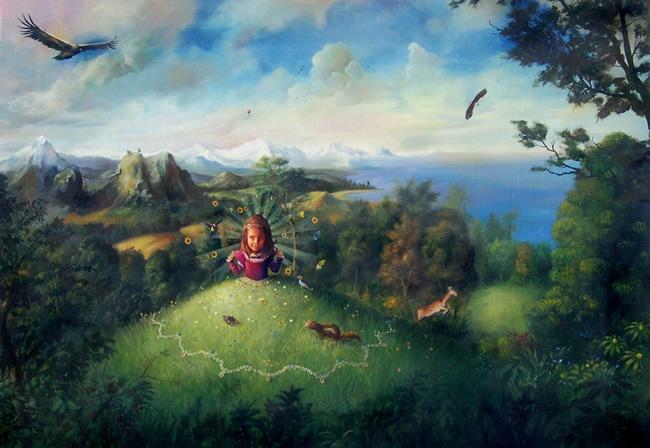 Jose Luis Serzo, pintor surrealista español, pintura surrealista, surrealismo, pintores de españa