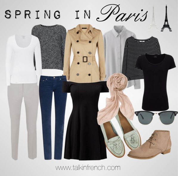 packing spring in Paris