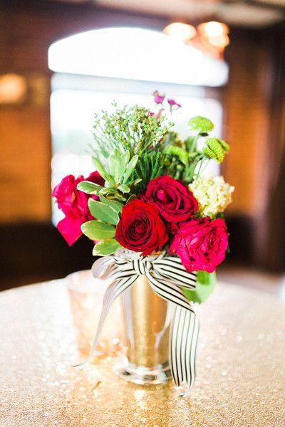 Kate Spade Inspired Denver Wedding Receptions Wedding